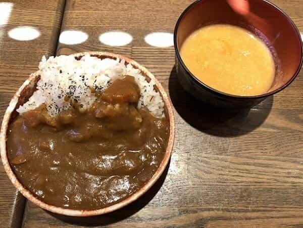 ぐるりごはんのカレーやかぼちゃスープ