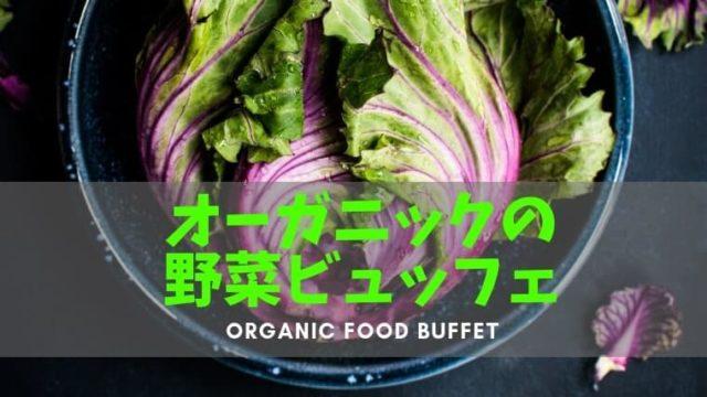 新所沢のオーガニックビュッフェ『ぐるりごはん』は有機野菜が美味しいと評判です