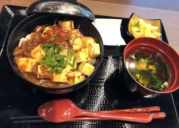 麻婆豆腐丼の画像